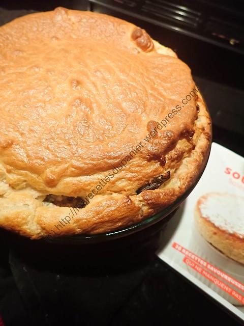 Soufflé aux Poireaux et aux Noix / Leek and Walnut Soufflé