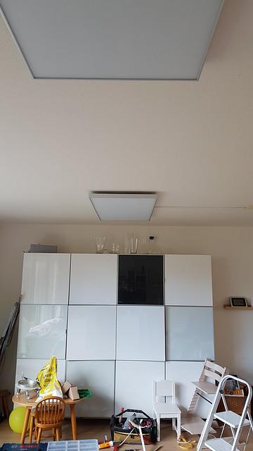 Installatie infrarood verwarming