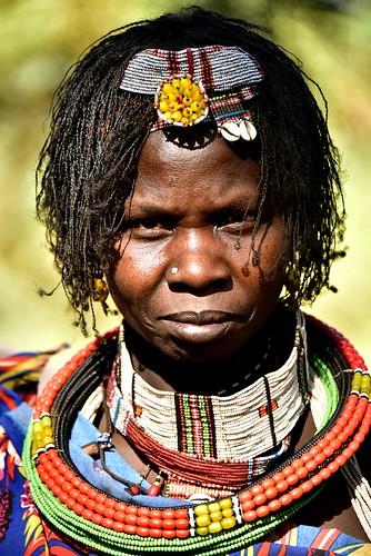 Toposa woman
