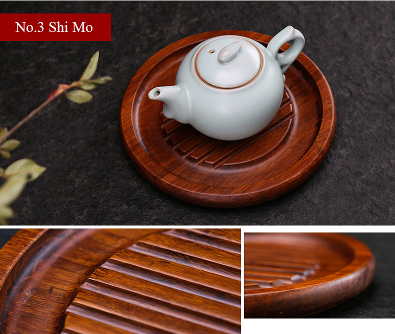 Bamboo Tea Cup Mat 3 Variations