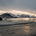 Evening at Haukland beach by Petra Schneider photography
