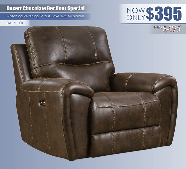 Desert Chocolate Recliner_91001