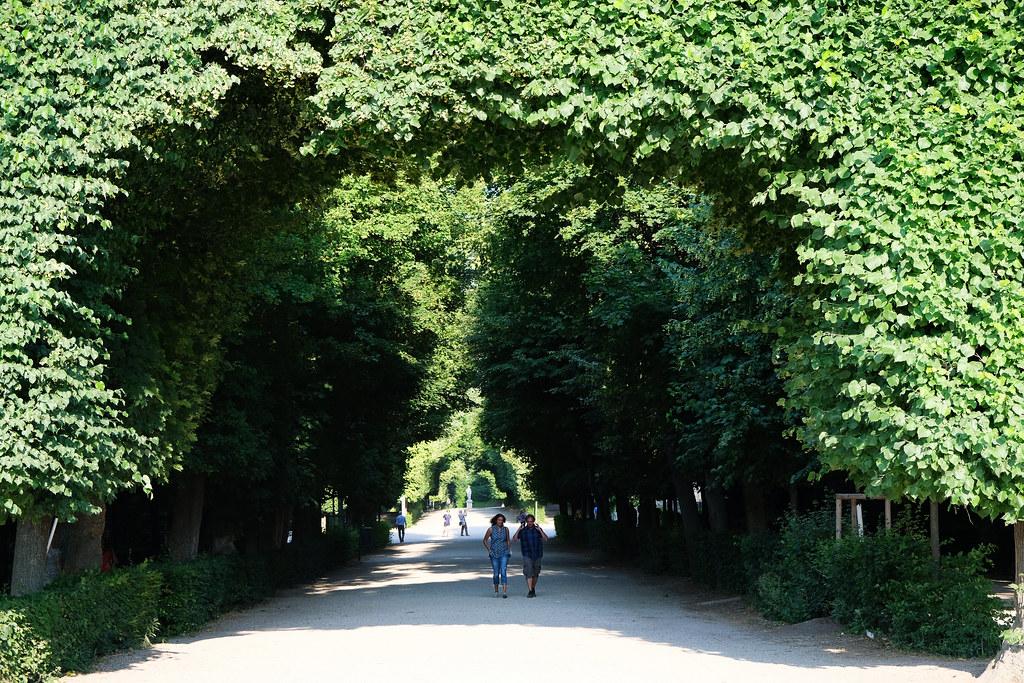 Garden of Schönbrunn, Vienna, Austria