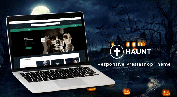 Ap Haunt Best Prestashop Gift Theme - Halloween event