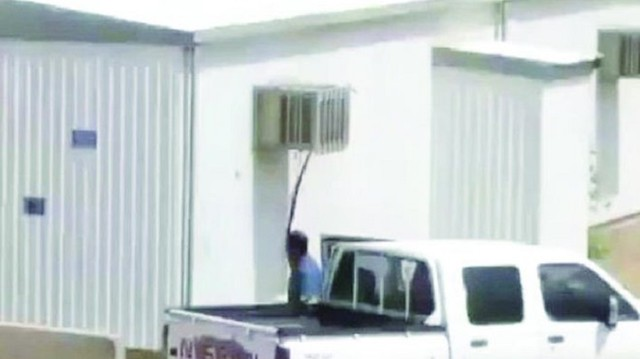 3371 Saudi man in his 30s caught stealing ACs from a Mosque