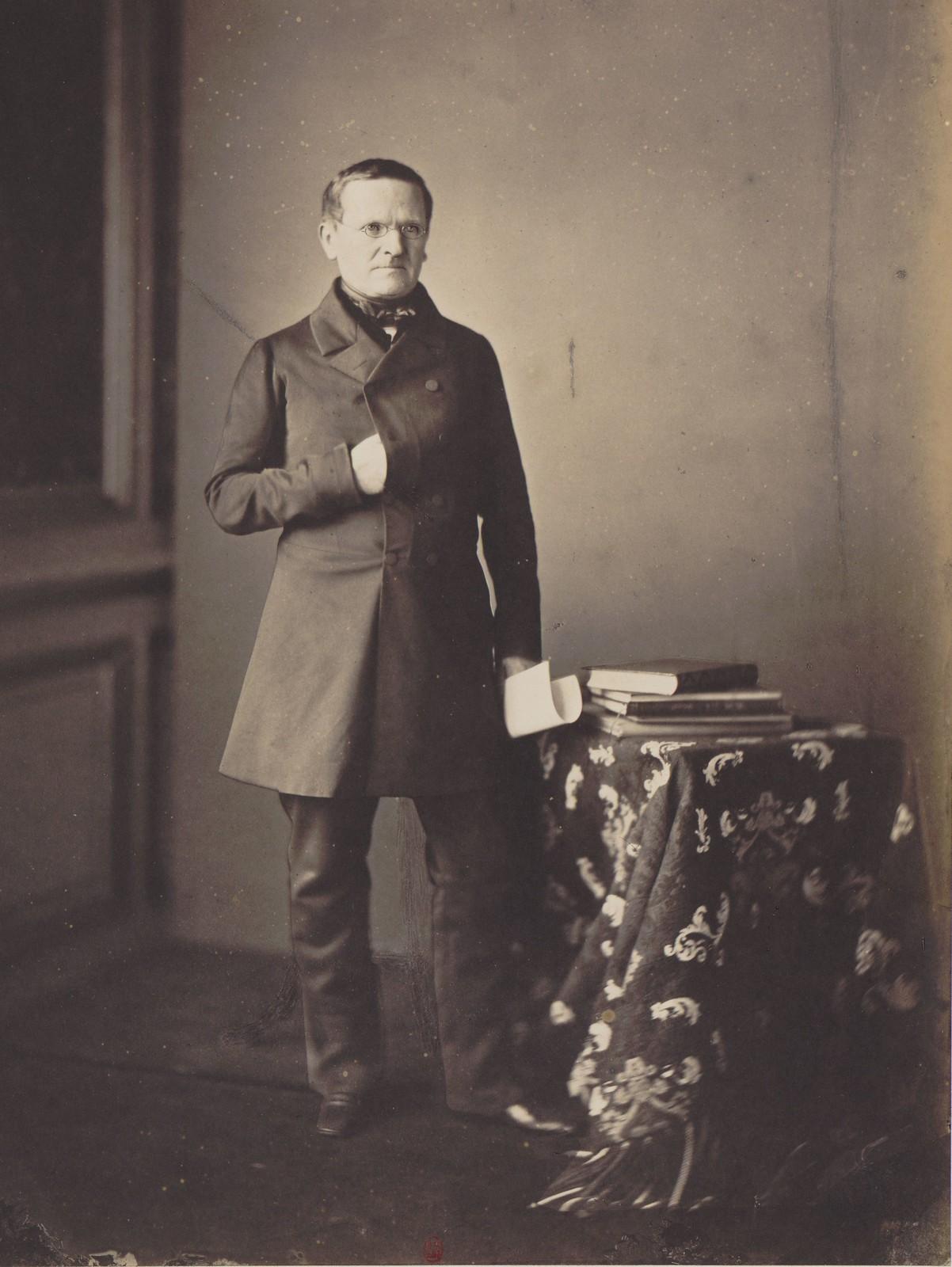 07. Министр иностранных дел, представитель Пруссии на Конгрессе барон Отто Теодор фон Мантейфель
