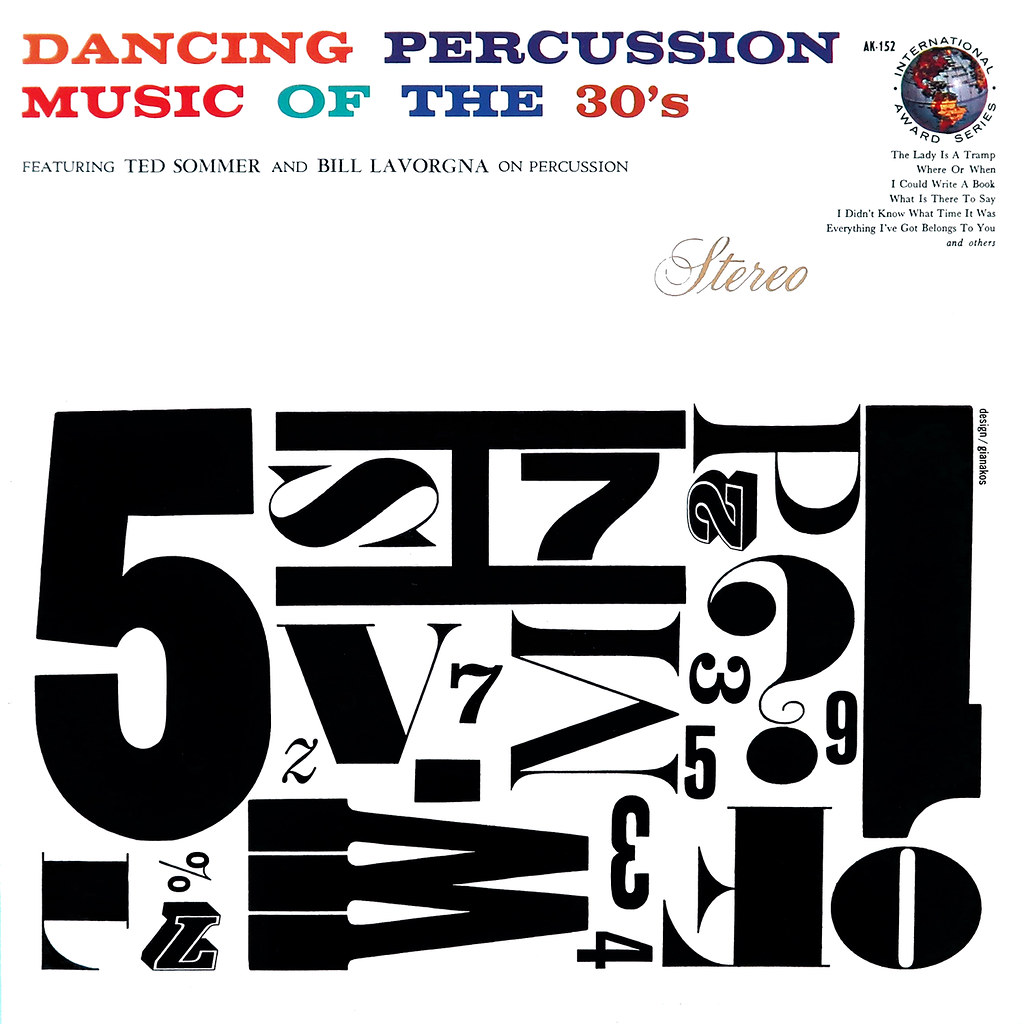 Ted Sommer, Bill Lavorgna ‎- Dancing Percussion Music Of The 30s