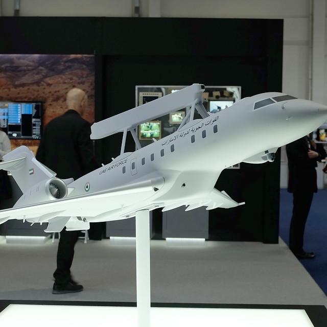Saab på vapenmässan IDEX i Abu Dhabi i februari