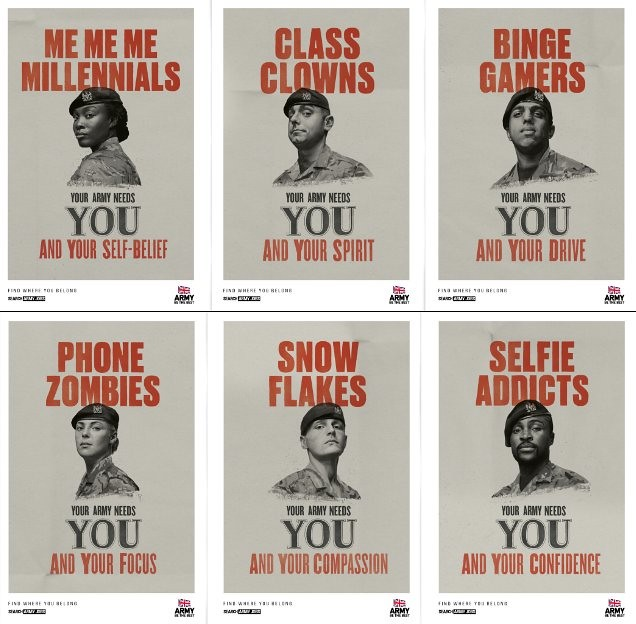 UK Army Posters