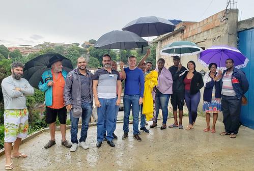 Visita técnica para verificar a situação da Rua Geraldo Costa, no Bairro Independência - Comissão de Meio Ambiente e Política Urbana