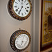 Clock and barometer from the Empress of Japan