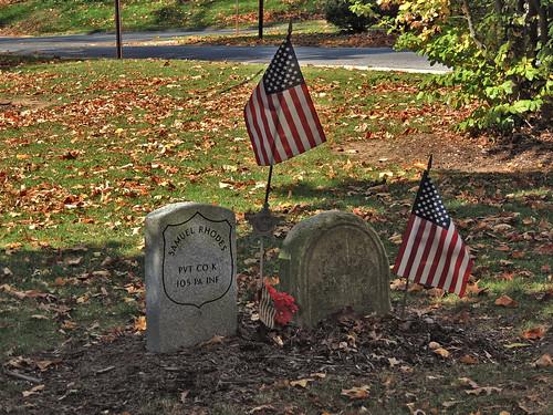 Tombstones in Town