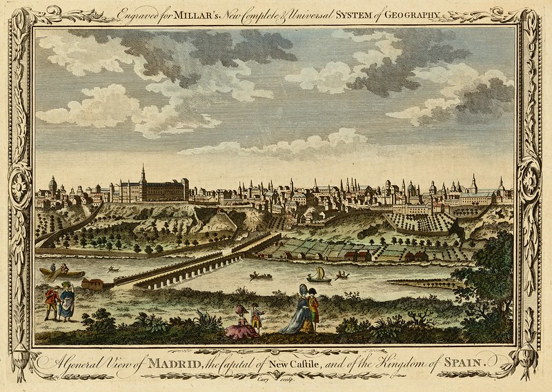 A general view of Madrid, the capital of New Castile, and of the kingdom of Spain (1782)