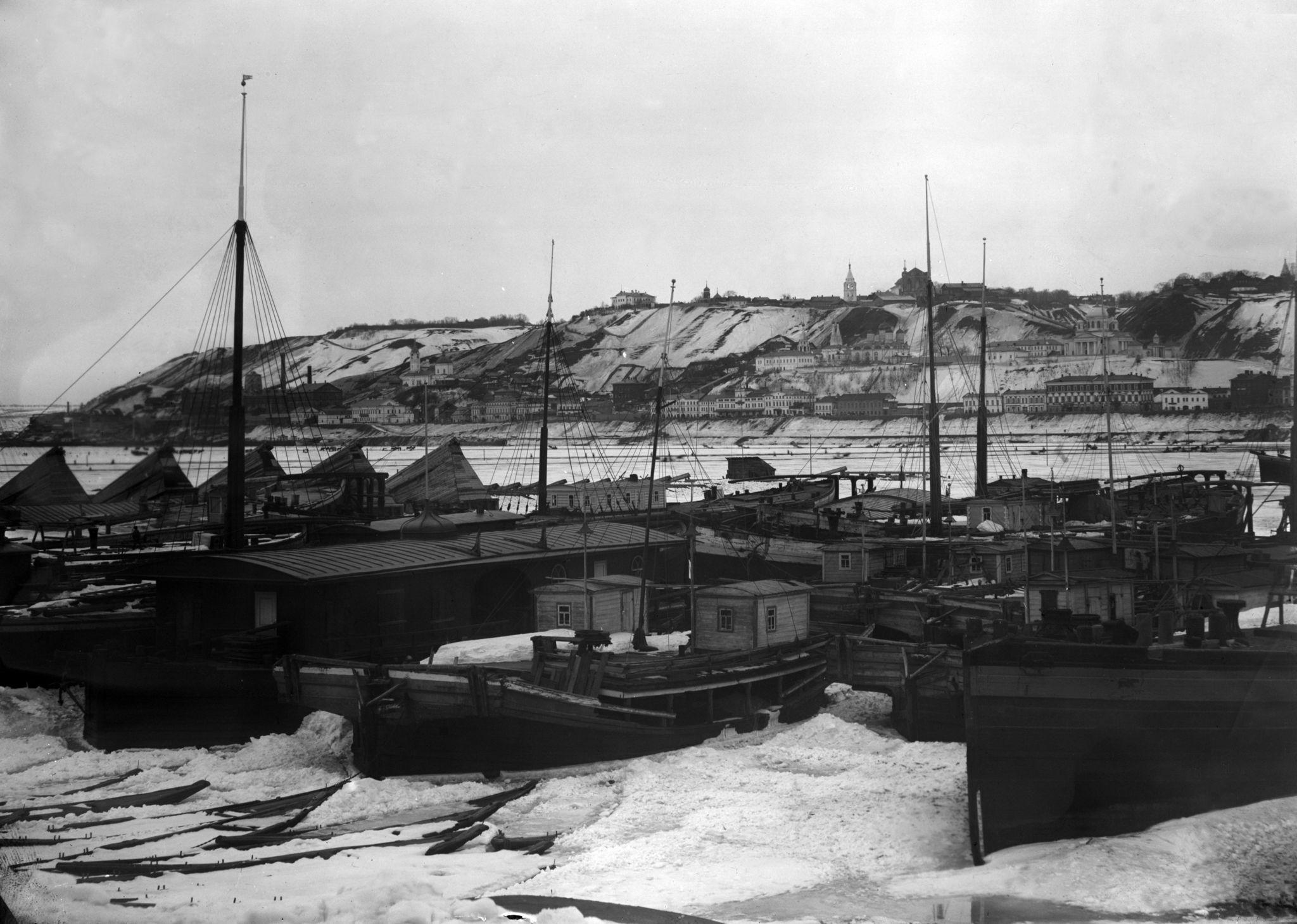 Муромский затон зимой