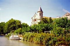 The Canal du Midi at Ventenac-en-Minervois, 12th September 1994