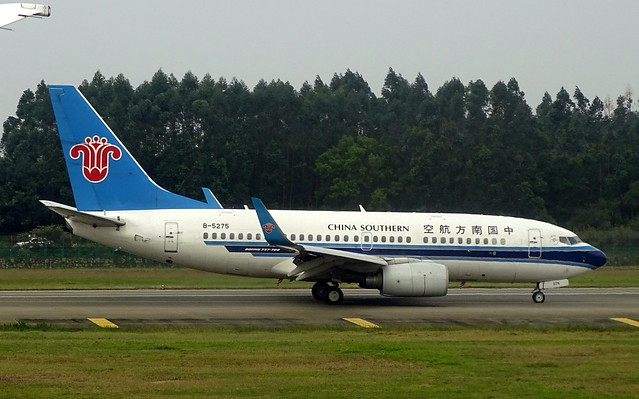 China Southern Airlines Boeing 737-700 B-5275