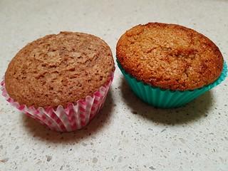 Orange Lentil Flour and Cinnamon Buckwheat Flour Muffins at Tamm Ha Tamm
