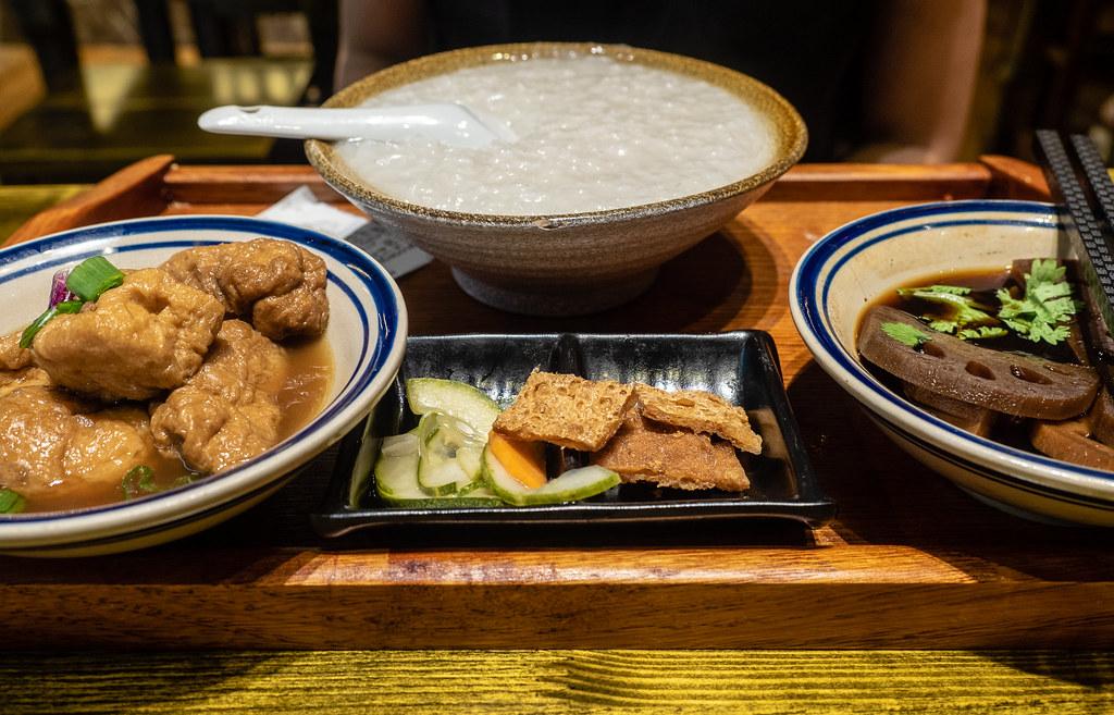 Porridge with Tau Pok and Lotus Root at House of Pok (小猪猪) Jaya One