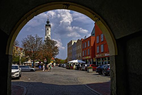 Durch das Isener Tor zum Marienplatz