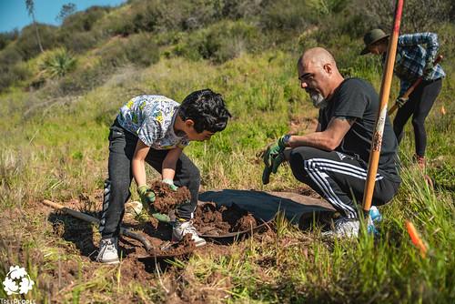 San Francisquito Canyon Planting, March 16, 2019-16