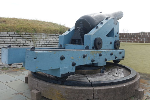 Fort Moultrie Civil War Cannon. From History Comes Alive in Charleston