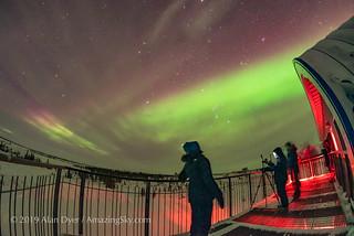 Aurora Gazing at Churchill Northern Studies Centre (Jan 31, 2019)