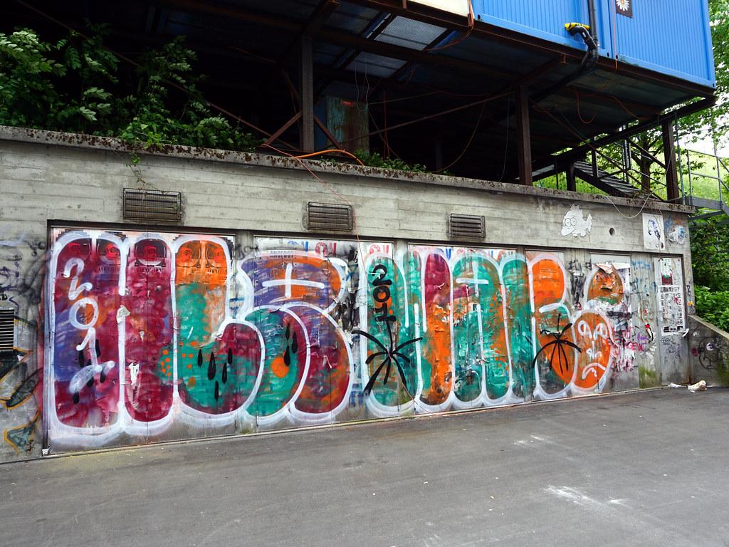 Graffiti in Zürich 2015