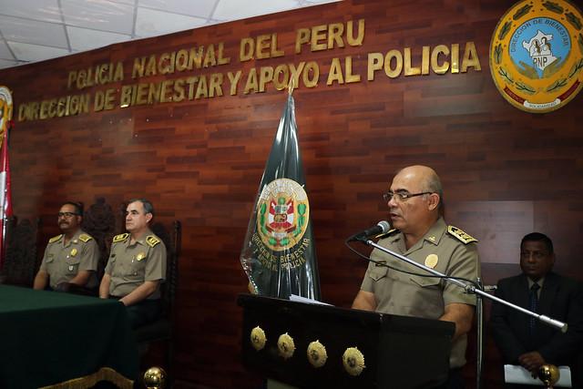 Dirección de Bienestar y Apoyo al Policía celebró 30 aniversario de creación institucional