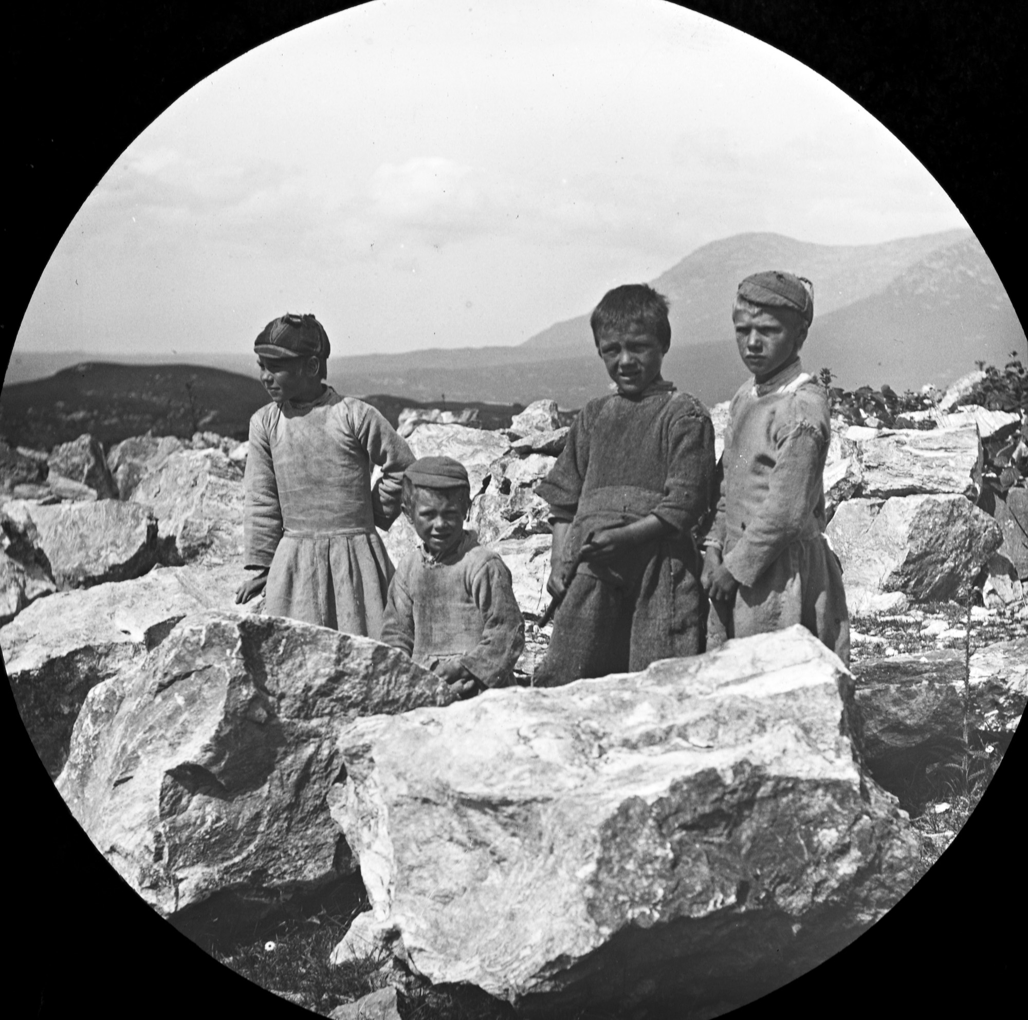 Children on the rocks?