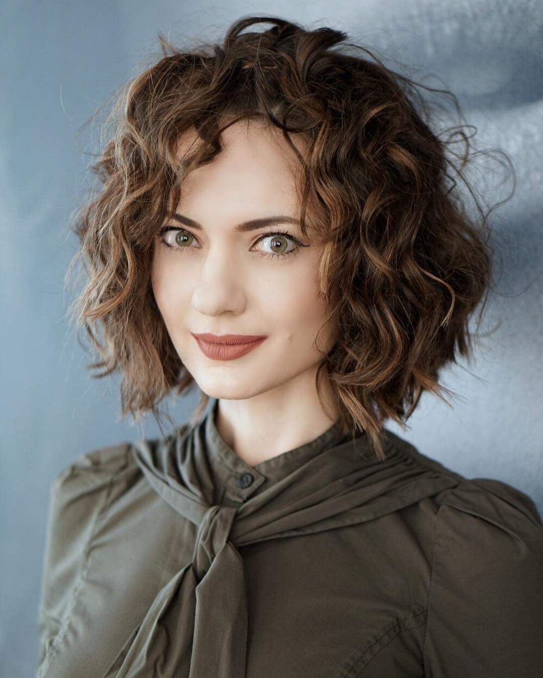 22 Stylish Styles for Curly Bob Hairstyles - Fashion 2D