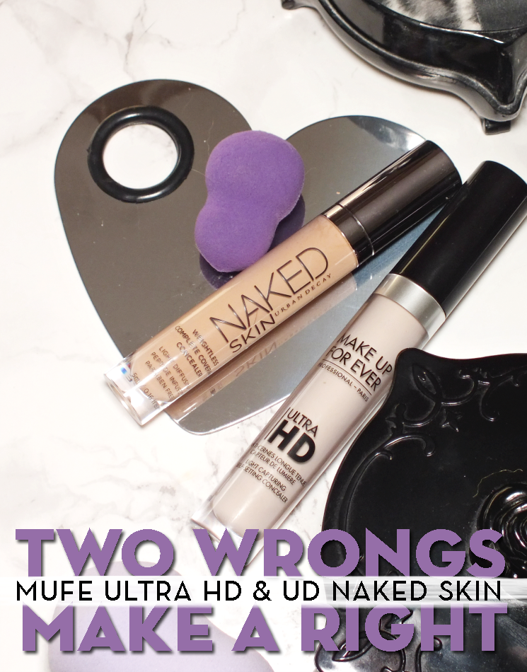 make up for ever ultra hd & urban decay naked skin concealer (4)