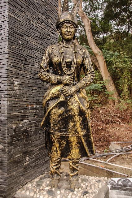 文樂社區塑像