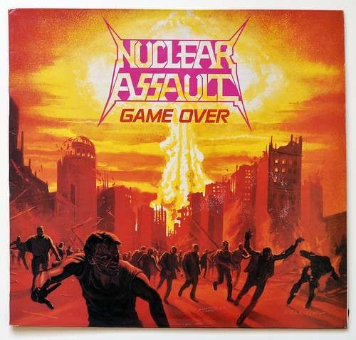 A0460 NUCLEAR ASSAULT Game Over