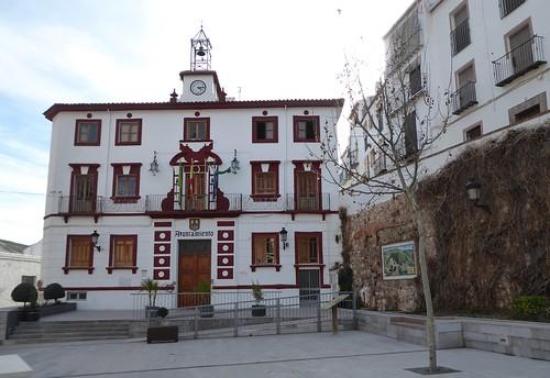 Cambil (Jaén-España). Plaza de la Constitución. Ayuntamiento