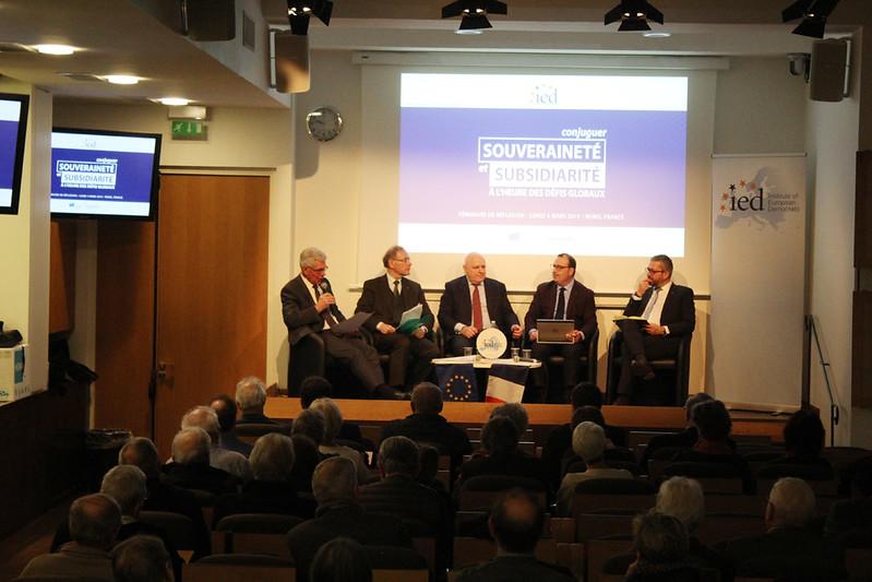 Souveraineté & subsidiarité: soirée publique