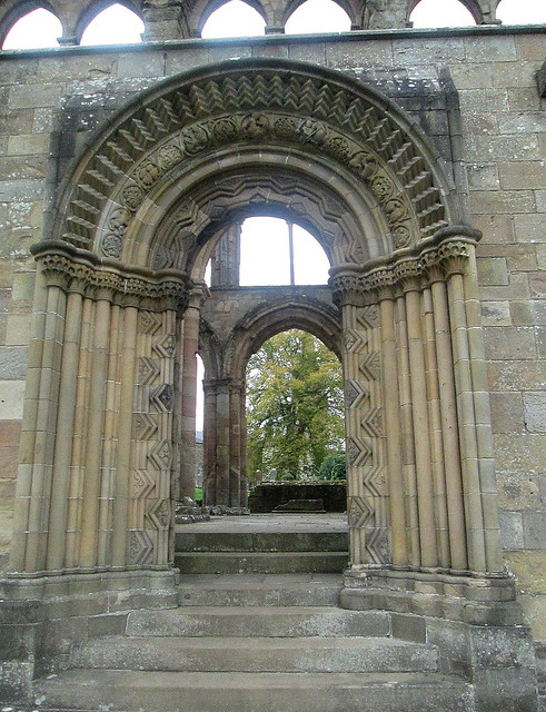 Jedburgh Abbey Doorway