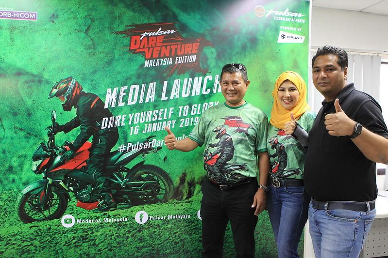 Pulsar Dareventure Di Malaysia