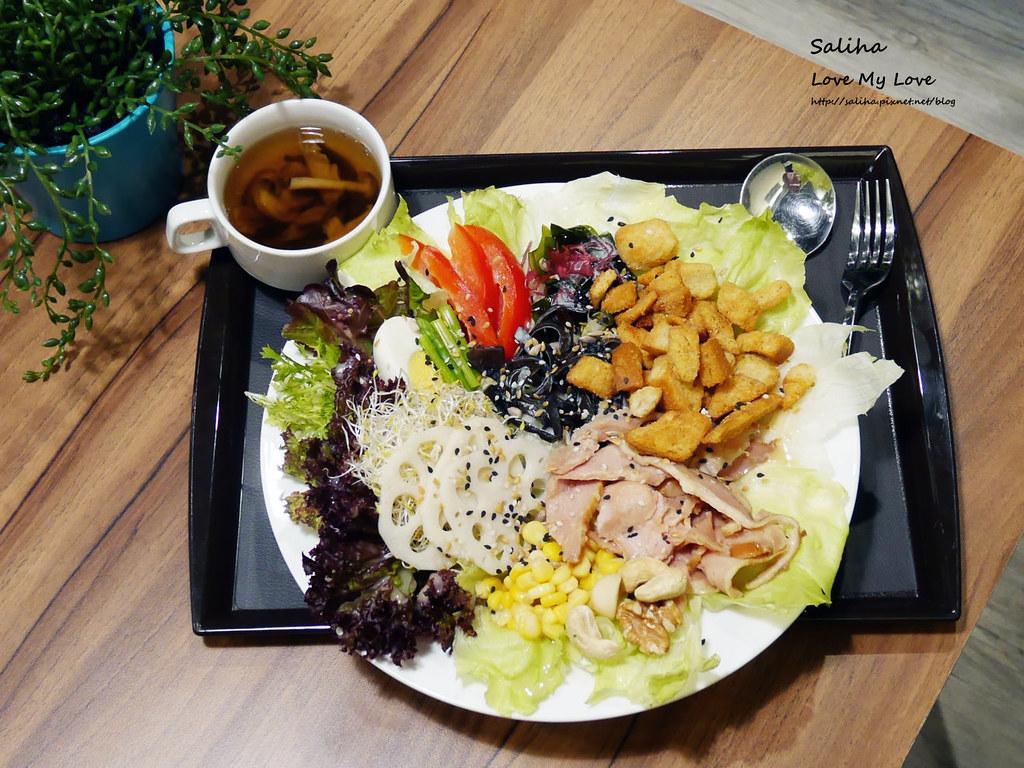 台北松山區民生社區有貓咪不限時餐廳好吃素食輕食早午餐brunch推薦 (11)