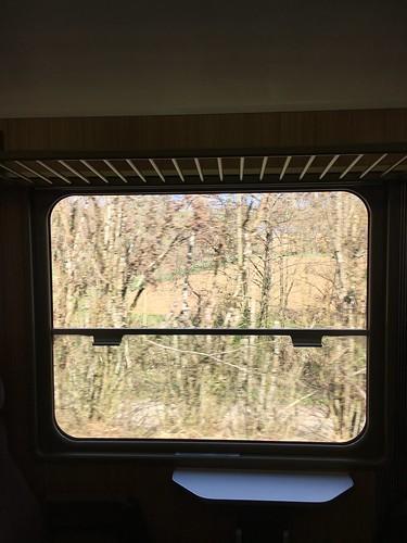 Auf der CJ gibt es noch Züge, bei denen man die Fenster öffnen kann!