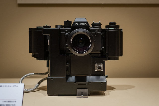 Nikon F3 for mounting space shuttle