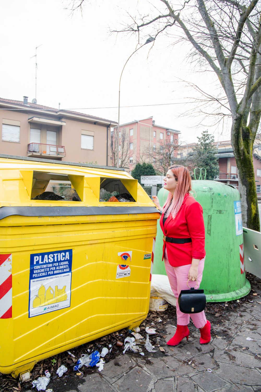 Outfit curvy e plus size, rosso e rosa per San Valentino (7)