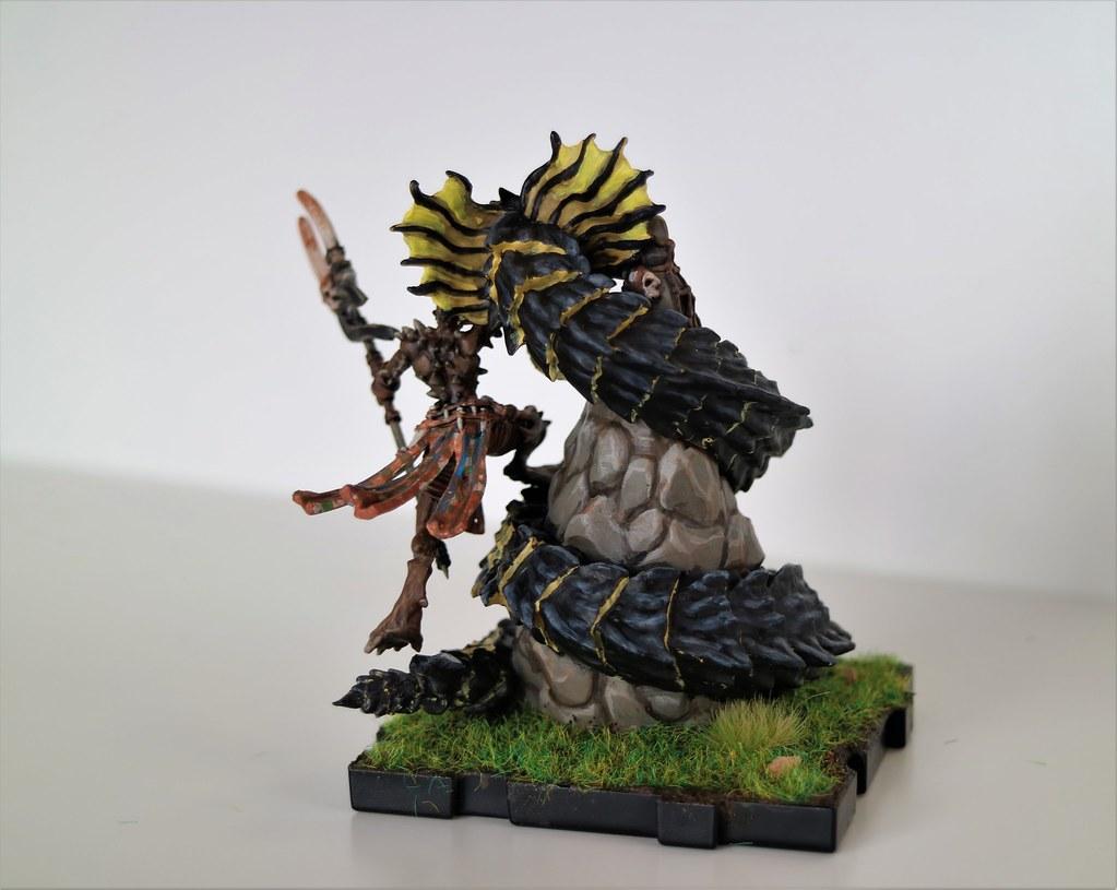 Runewars Th'Uk Tar and Gorgemaw Back