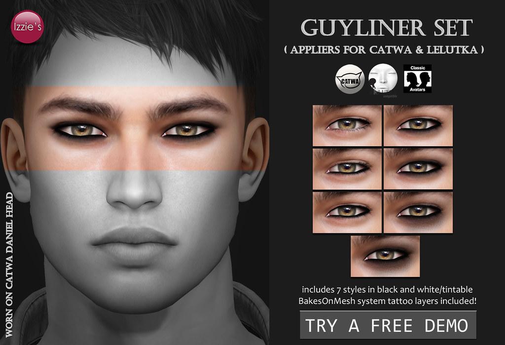 Guyliner (Catwa & LeLutka) - TeleportHub.com Live!