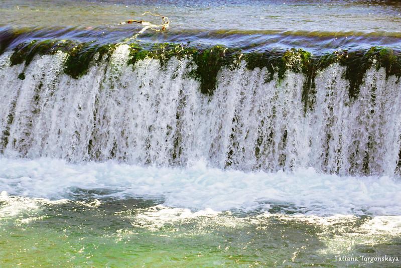 Фрагмент водопада Бенат