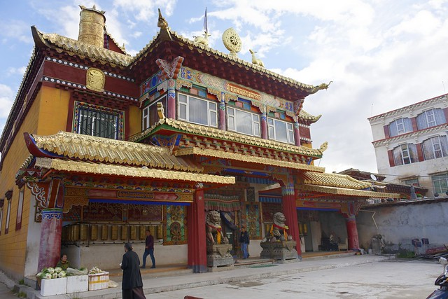 Dé Gönkhang monastery, Tibet 2018