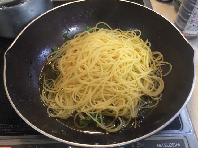Pasta with Wild Herve