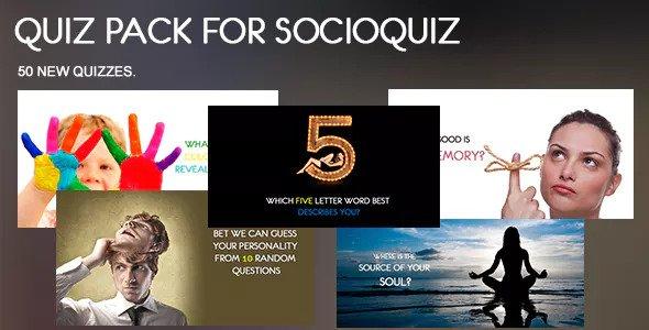 50 Quiz Pack for SocioQuiz