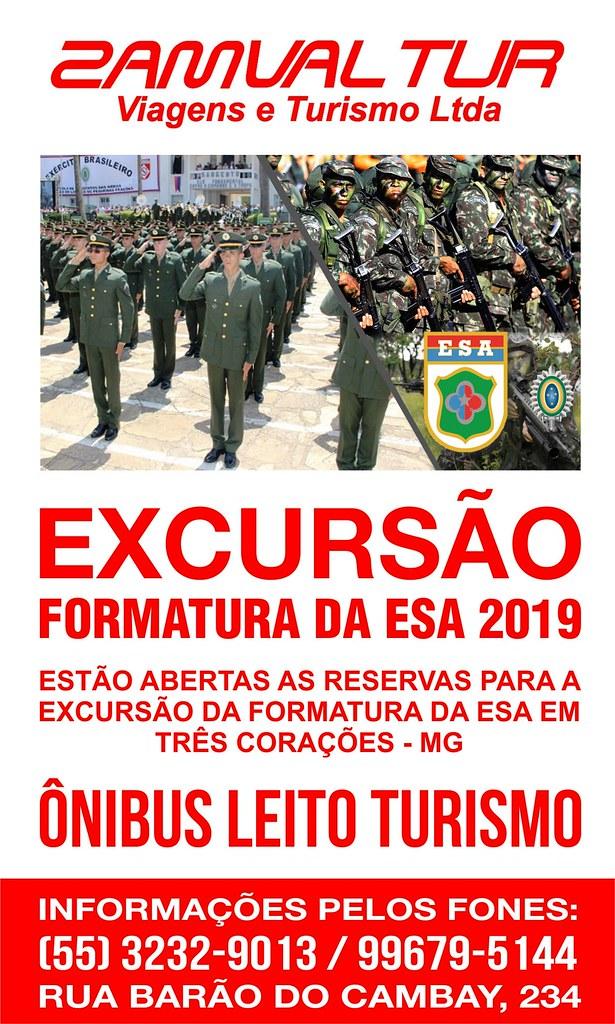 Faça sua reserva para a excursão da formatura da ESA em Minas Gerais com a Zamvaltur