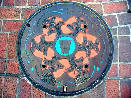 Tokoname Aichi, manhole cover (愛知県常滑市のマンホール)