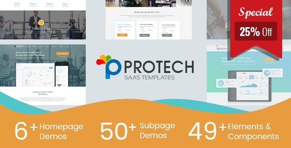 Protech SaaS - SaaS, Software & WebApp Template